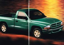 Big 1997 Dodge DAKOTA PickUp Truck Brochure w/Color Chart: SPORT,SLT,Club Cab,+,