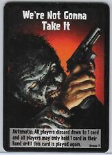 ZOMBIES!!! BOARD GAME WE'RE NOT GONNA TAKE IT PROMO CARD