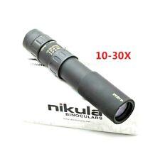 Binoculars Nikula 30x Zoom Monocular Telescope Black Hunting Optical Prism Scope