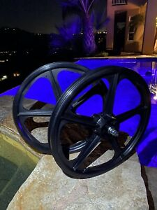 """Skyway Tuff 2 """"20"""" Wheel Set Brand NEW NOS (Freewheel Type)"""