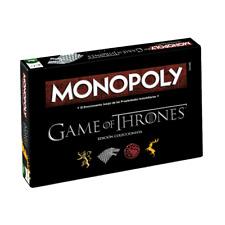 Monopoly Juego de Tronos Edición en Español - Juego de Mesa - Edad 18+