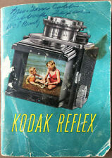 Kodak Reflex 2-1/4 x 2-1/4 Camera Owners Instruction Manual Book 116959