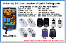 DEA Compatible Universal 2-Channel receiver 12-24V AC/DC 433.92MHz.
