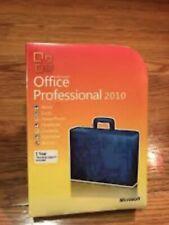 Microsoft Office 2010 Professional 32/64 Bit Retail for 3 PC w. ORIG MS USB