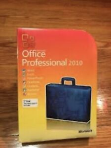 Microsoft Office 2010 Professional 32/64 Bit Retail for 3 PC w. ORIG MS USB
