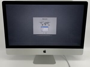 """iMac 27"""" Silver Late 2012 3.2GHz i5 28GB 1TB HDD - Excellent Condition - Bundle!"""