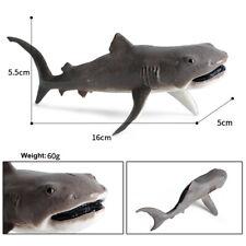 Megamouth Shark Figure White Shark Ocean Animal Fish Toys Collector Kids Gift