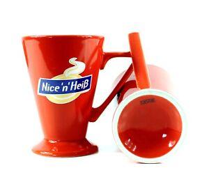GLÜHWEIN Tassen Set Nice n' Heiß Tee Becher Kaffee Gläser Grog Glas ~mn1096 7h2m