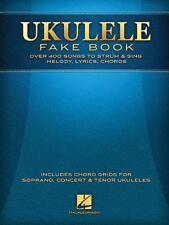 Ukulele Fake Book Full Size Edition Sheet Music Book Uke Songbook New Song Book