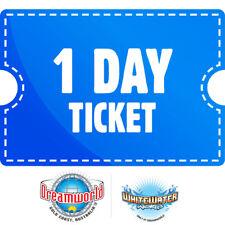 Dreamworld tickets + whitewater world gold coast theme park - Emailed