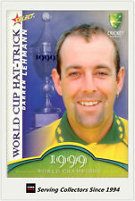 2007-08 Select Cricket Cards World Cup Hat Trick WSC7 Darren Lehmann