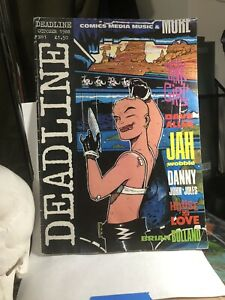 DEADLINE NO 1 1988 USED CONDITION FIRST APPEARANCE OF TANK GIRL