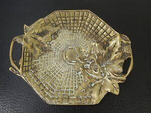 Art Nouveau Bronze Vienna Stamp Pin Tray Visit Card Holder Dish