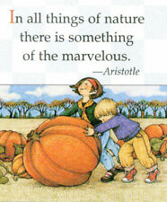 Aristotle-Marvelous Nature-Handcrafted Fall Magnet-w/Mary Engelbreit art