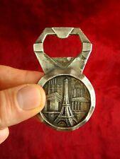 alter Flaschenöffner Kapselheber Paris Eiffelturm Frankreich Metall 7,5 cm
