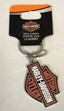Harley-davidson Bar & Shield Enamel Metal Key Chain Plasticolor
