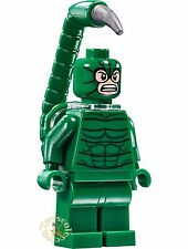 LEGO SUPER HEROES MARVEL - MINIFIGURA SCORPION SET 76057 - ORIGINAL MINIFIGURE
