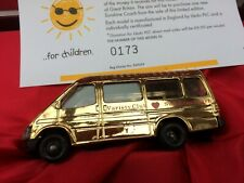 LLEDO PM100 1991 Ford Transit Mini Bus models Police 223 Squadron Variety Gold