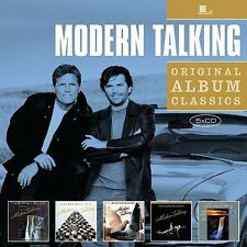 Original Album Classics - Modern Talking (2011, CD NEU)5 DISC SET