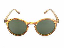 Womens Round Keyhole Sunglasses | Amber Brown Tortoiseshell Frames | 100% UV 400