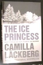 Camilla LACKBERG (SIGNED) The ICE PRINCESS 1st Edition in dj 2007 British SIGNED