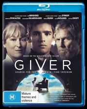 The Giver (Blu-ray, 2015) NEW