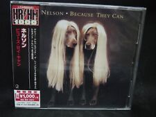 NELSON Because They Can + 2 JAPAN CD Ricky Nelson Toto Eagles Doobie Brothers