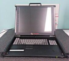"AVOCENT AA-V13220 ECS17PWRSCR 17"" LCD MONITOR / KEYBOARD #FR1"