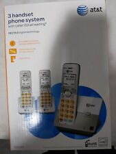 At&t cordless handset system set of 3