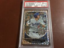 Joc Pederson 2013 Bowman Prospects #TP-13 ROOKIE - SILVER ICE- PSA10 GEM - POP 4