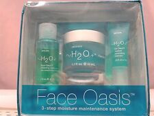 FACE OASIS- H2O + 3-STEP MOISTURE MAINTENANCE SYSTEM -  NEW IN BOX