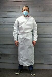 NHS Isolation gown, hospital, dentist, medical gown washable top quality durable