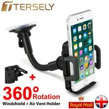 Universal In Car Mobile Phone Sat Nav PDA GPS Holder Suction Mount W/ Vent Clip