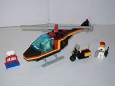 Lego 1475 Classic Town AIRPORT SECURITY SQUAD Helicopter Complete w/Instructions