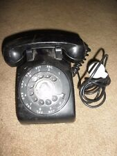 Vintage Mid-Century Bell/Western Electric Black Telephone,