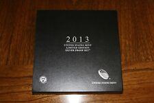 2013 & 2014 U.S. Mint Limited Edition Silver Proof Set Original Packaging w/COA