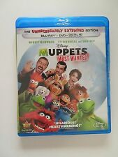 Muppets Most Wanted (Blu-ray/DVD, 2014, 2-Disc Set, No Digital Copy) Very Good