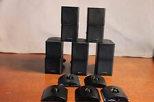 5 BOSE Lifestyle Jewel Mini Double Cube Speakers with Wires & Mounts free ship