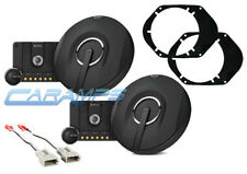 NEW INFINITY KAPPA COMPONENT SET CAR/TRUCK FRONT OR REAR SPEAKERS W INSTALL KIT