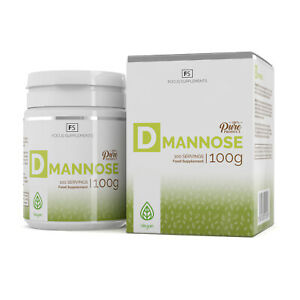 D-Mannose Pure Powder   100g   Urinary Tract Infections   Bladder Health