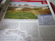 Archiv  Eisenbahnstrecken 330 Halle (Saale)) Wernigerode