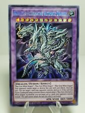 Limited Edition Blue Eyes Alternative Ultimate Dragon Yughio Card - Investment