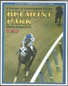 """2005 - SECRETARIAT - Belmont Park Special Commemorative Issue - 8"""" x 10"""""""