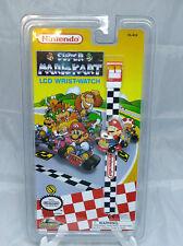 Nintendo Super Mario Kart LCD Wrist-Watch Mario Brand New 1994