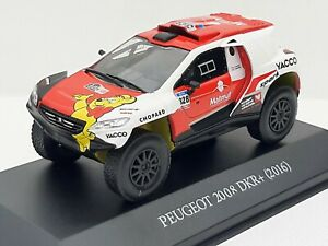 Collection Press Serie Dakar. Peugeot 2008 Dkr 2016. 1/43 New IN Box
