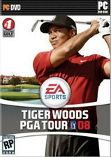 Tiger Woods PGA Tour 08 PC DVD golf game 2008 new DVD with a new key code