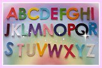 Iron on Die Cut Felt Alphabet Set, UPPER CASE
