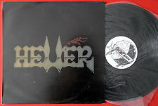 HELLER S/T 1990 SPEED THRASH METAL PRIVATE EXYUGO LP MINT ULTRA RARE