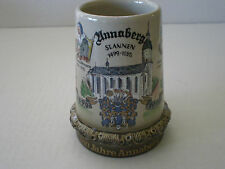 ANNABERG 500 YEAR ANNIVERSARY GERMAN BEER STEIN / .25L KING WERK GERMANY