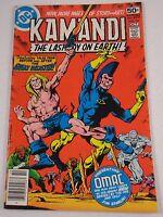 KAMANDI #59 OMAC LAST ISSUE GLOSSY VF/VF+
